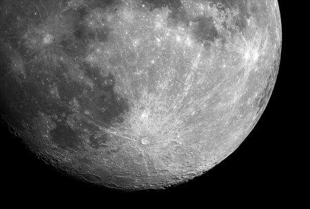Тихо и Коперник: лунные кратеры с лучами